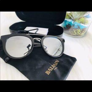 Balmain Mirrored Glasses Unisex